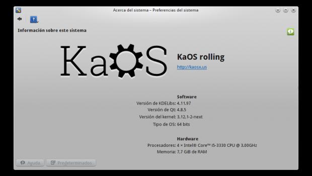KaOS , la nueva distribución minimalista GNU/Linux