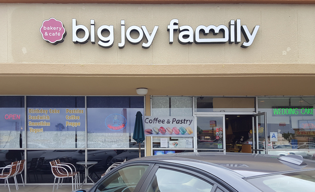 photo of the outside of Big Joy Family Bakery & Cafe