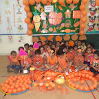 Orange Colour Day WKSN (Nursery )18/9/2015