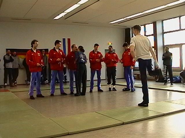 Freundschaftswett- kampf gegen das französiche Nationalteam 2003 - IMGA0155.JPG