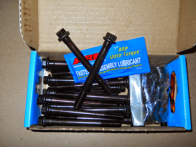 ARP head bolt set 98.00, we have head bolt stud kits for 195.00 and main stud kits are 75.00