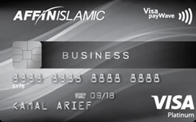 5 Kad Kredit Affin Islamic Popular