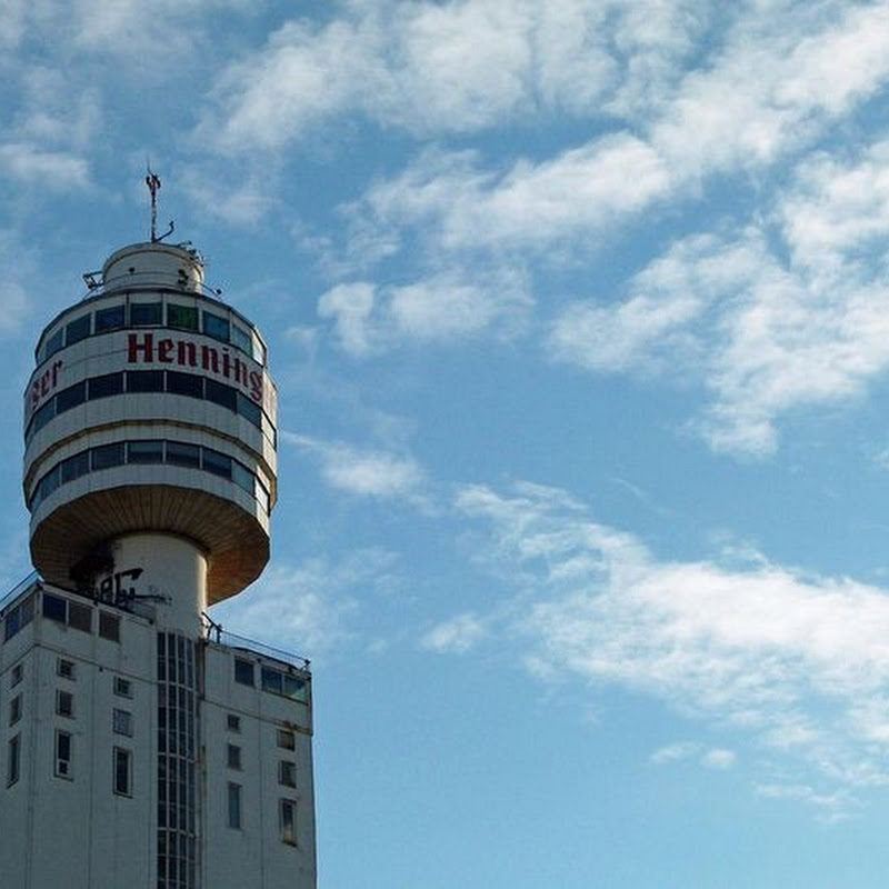 Henninger Turm: World's Tallest Storage Silo With a Restaurant On Top