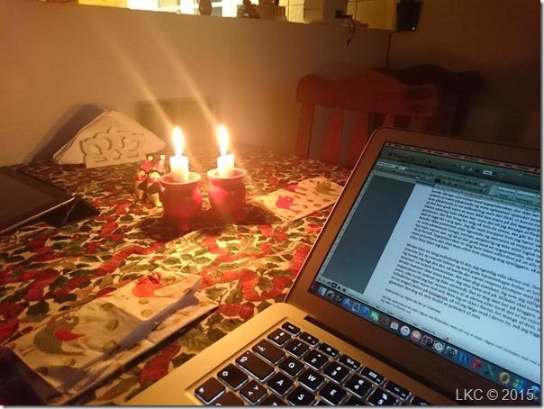 blogskrivning