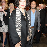 WWW.ENTSIMAGES.COM -     Bianca Jagger  arriving  at      The Scottsboro Boys - press night at Garrick Theatre, Charing Cross Road, London October 20th 2014Kander and Ebb's provocative musical about the true story of nine young black men falsely accused of raping two white women.                                                   Photo Mobis Photos/OIC 0203 174 1069