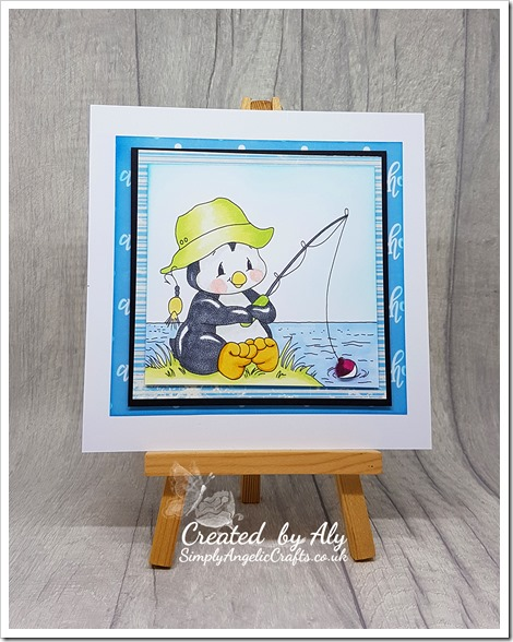penguin fishing  digi and ahoy there papers