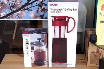 おすすめ商品:ハリオ カフェプレス&水出しコーヒポット
