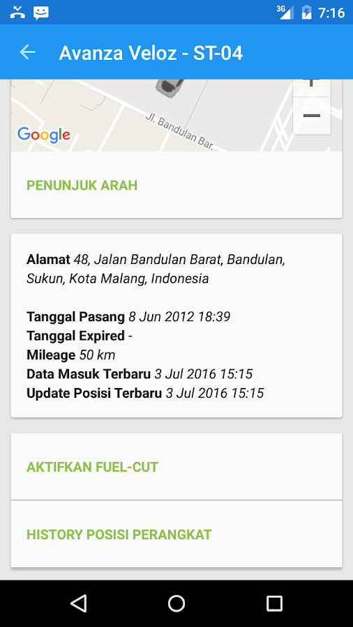 LintasGPS- screenshot