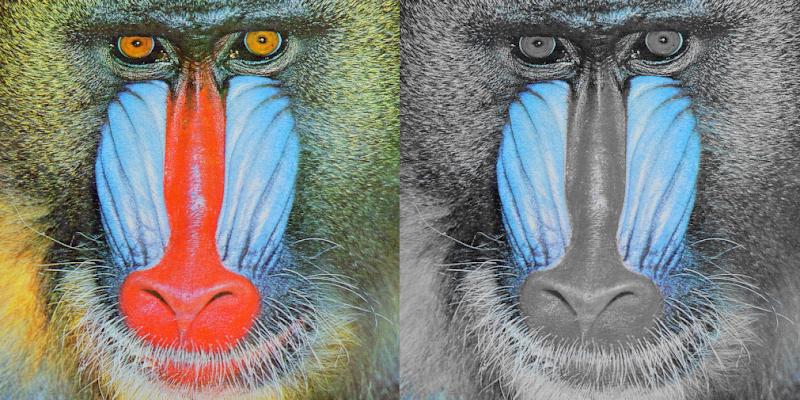 resaltar o acentuar color con OpenCV
