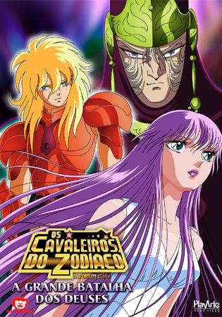 Download Os Cavaleiros do Zodíaco Filme 2: A Grande Batalha dos Deuses Dublado