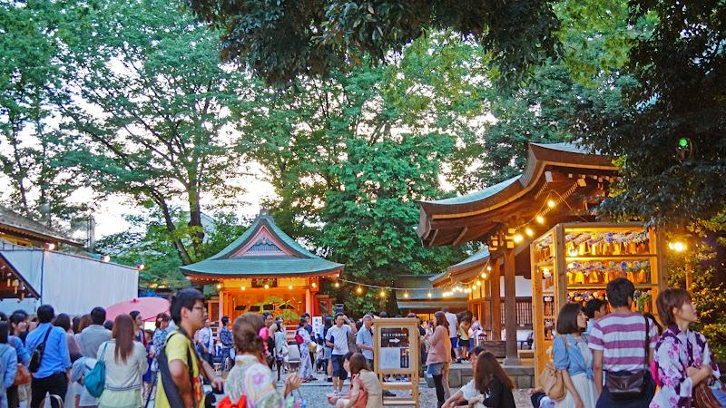 川越氷川神社 風鈴回廊 写真14