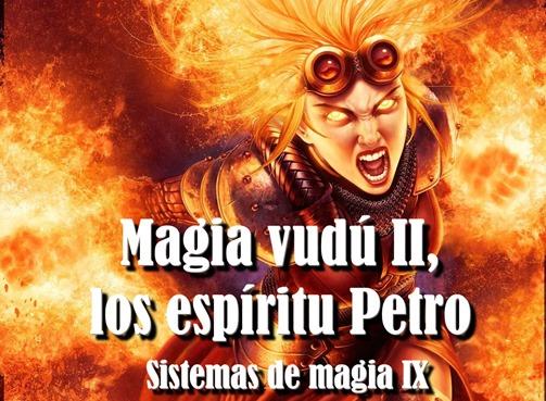 banner sistemas de magia magia vudu espiritus petro como escribir una novela de fantasia fantastica aprender a escribir