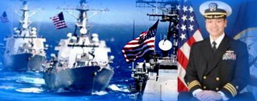 Đại tá hạm trưởng Hải Quân Hoa Kỳ gốc Việt