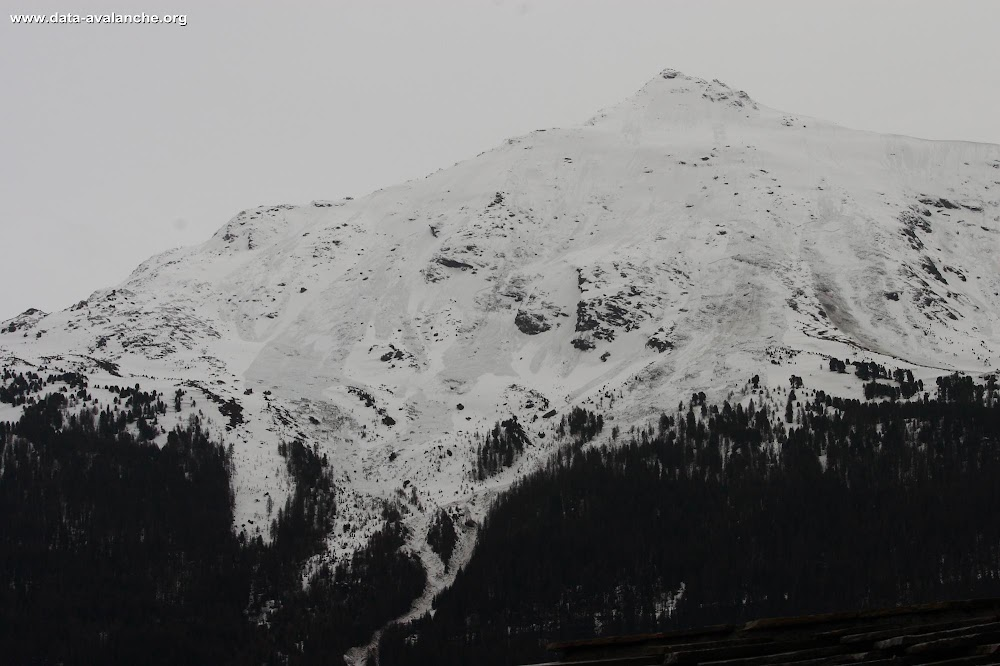 Avalanche Haute Maurienne, secteur Pointe Longe Côte - Photo 1 - © Duclos Alain