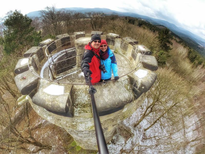 Auf dem Steinbergturm bei Goslar