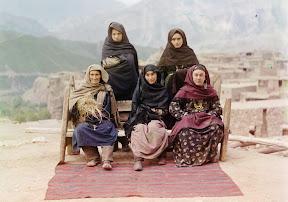 Группа женщин в Дагестане, 1910 год
