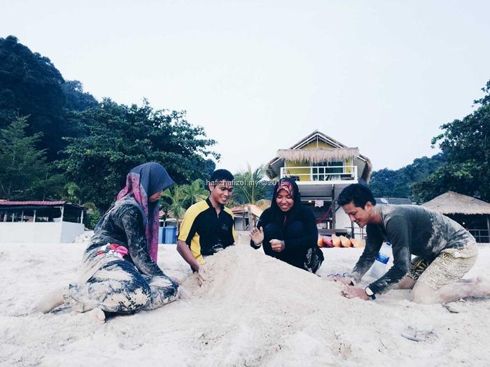 main pasir pulau kapas kuala terengganu