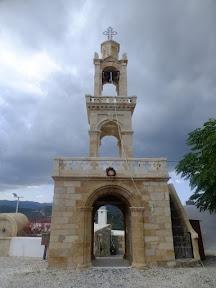 Asklipio bell tower