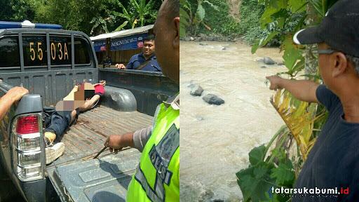 Mayat Diduga Korban Pembunuhan Dibuang di Sungai Cibatu Sukabumi