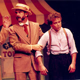 The constable catches Tommy  The Music Man