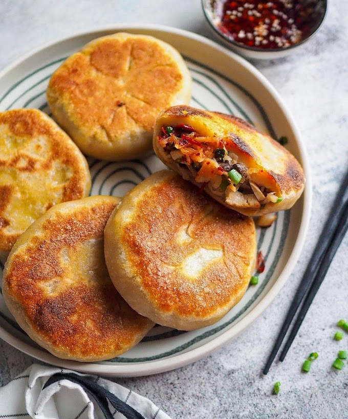 Pan Fried Radish Buns Recipe | Breakfast Care