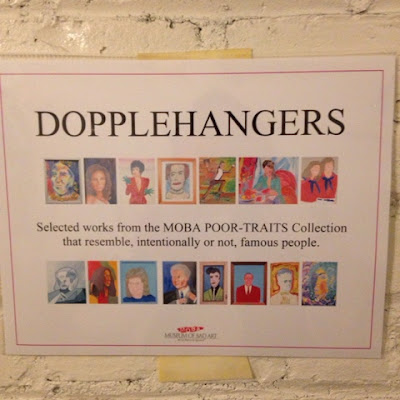 doppelhangers exhibit at the museum of bad art