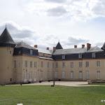 Château de Malesherbes : arrière du château