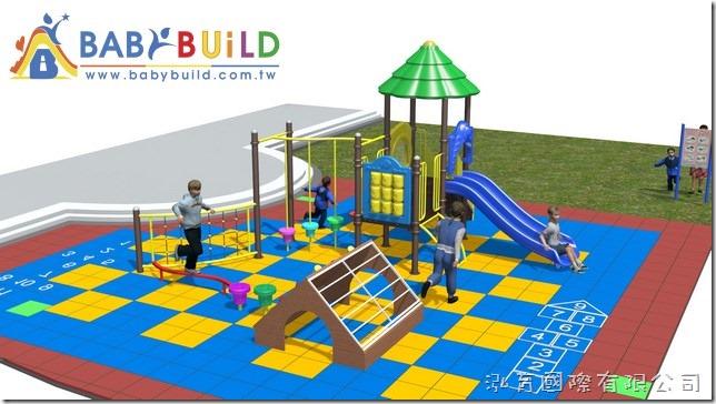BabyBuild 鋁合金鋼管遊樂器材