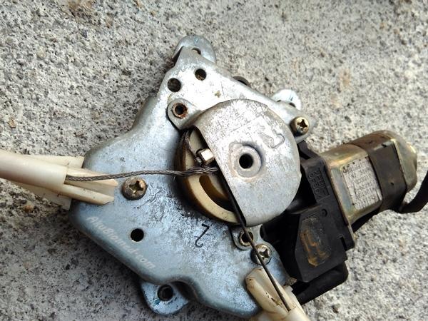 power window regulator yang rosak