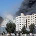 Al Jazeera's office building was destroyed in the Israeli attack
