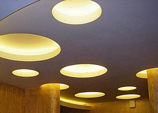 石膏ホーム天井のデザイン