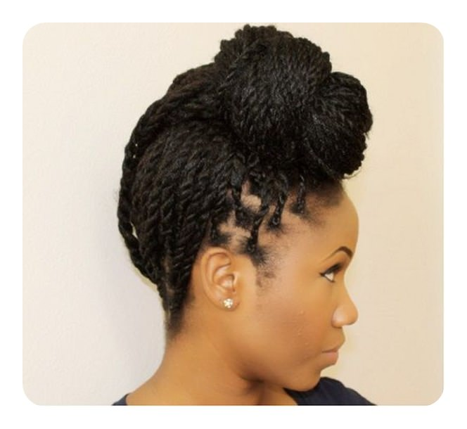 +15 Sexiest Flat Twist Braids For Hairstyles 1