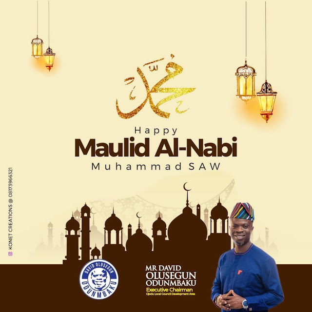 Maulid Al-Nabi: Odunmbaku Greets Muslims, Urges Prayer For Peace And Harmony ~Omonaijablog