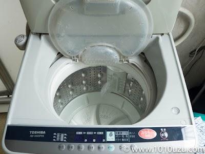 洗濯槽もきれいになり糸くずフィルターもついた