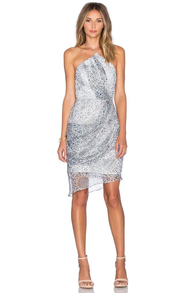 drape crystal dresses drapes prom dress jersey embellished sheer red back