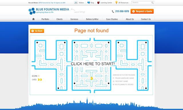 *充滿創意的404錯誤頁面|404 Not Found Error Web page 11