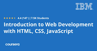 Best Coursera course to learn html, css and javascript