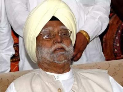 बिहार के पूर्व राज्यपाल बूटा सिंह का निधन, दिल्ली के एम्स में ली आखिरी सांस