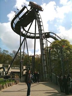 Oblivion roller coaster