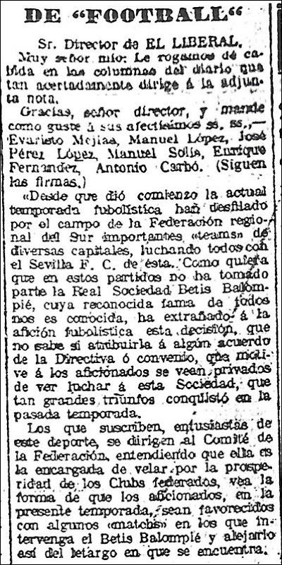 El Liberal 3 Enero 1917