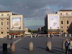 Η πλατεία στο Βατικανό