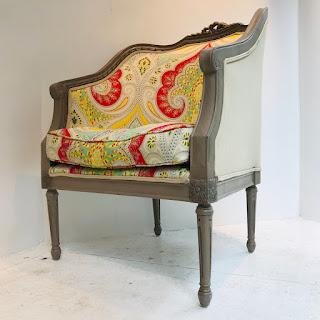 Shelter Back Armchair