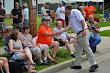 Eric Shaking Hands at Hartland Parade