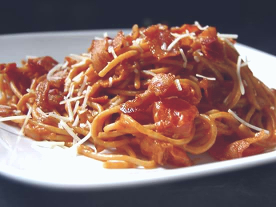 BACON AND TOMATO SPAGHETTI RECIPE