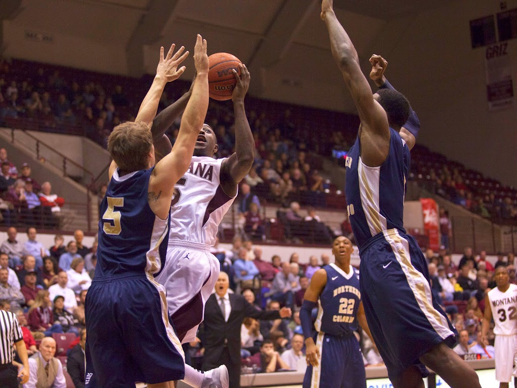 Dahlberg Arena in Missoula, Mont., February 7th, 2013.