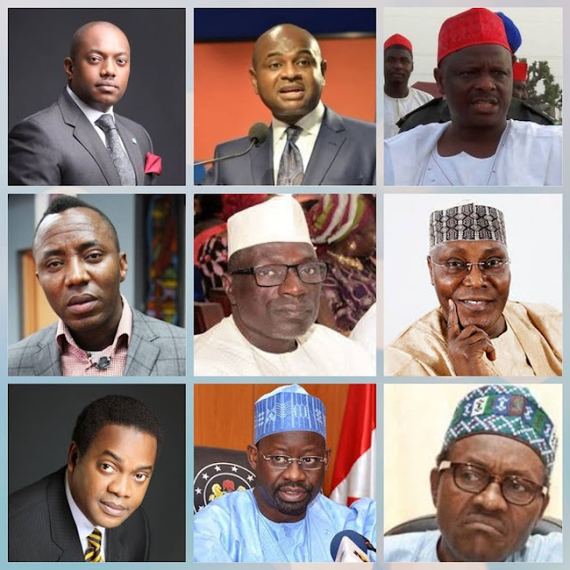 LIST OF THOSE WHO WANT TO BE NIGERIA'S NEXT PRESIDENT