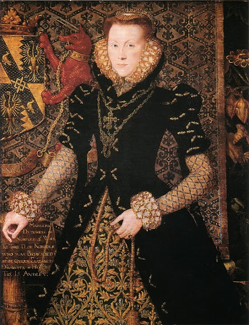 Hans Eworth - Margaret Audley, Duchess of Norfolk, 1562