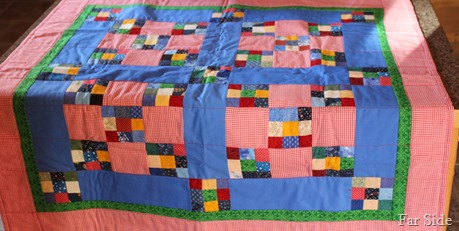 Small quilt from Mom