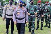 Beri Semangat Prajurit TNI-Polri, Kapolri: Pengabdian Terbaik Kepada Bangsa dan Masyarakat di Papua