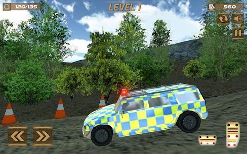Extreme police GT car driving simulator 3